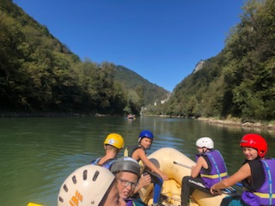 Rafting po Savi