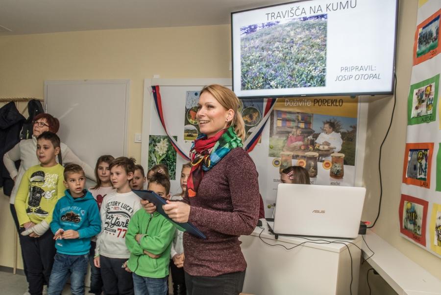 Otvoritev traviščne učilnice na Dobovcu,
