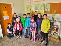 Razstava otroških risb na Dobovcu