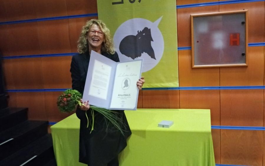 Linhartovo listino prejela Alma Knaus