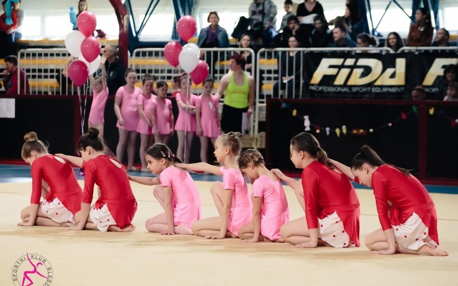 Tekmovanje v ritmični gimnastiki