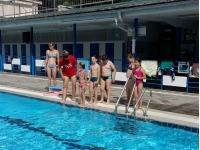 Učenci 2. c na bazenu v Trbovljah