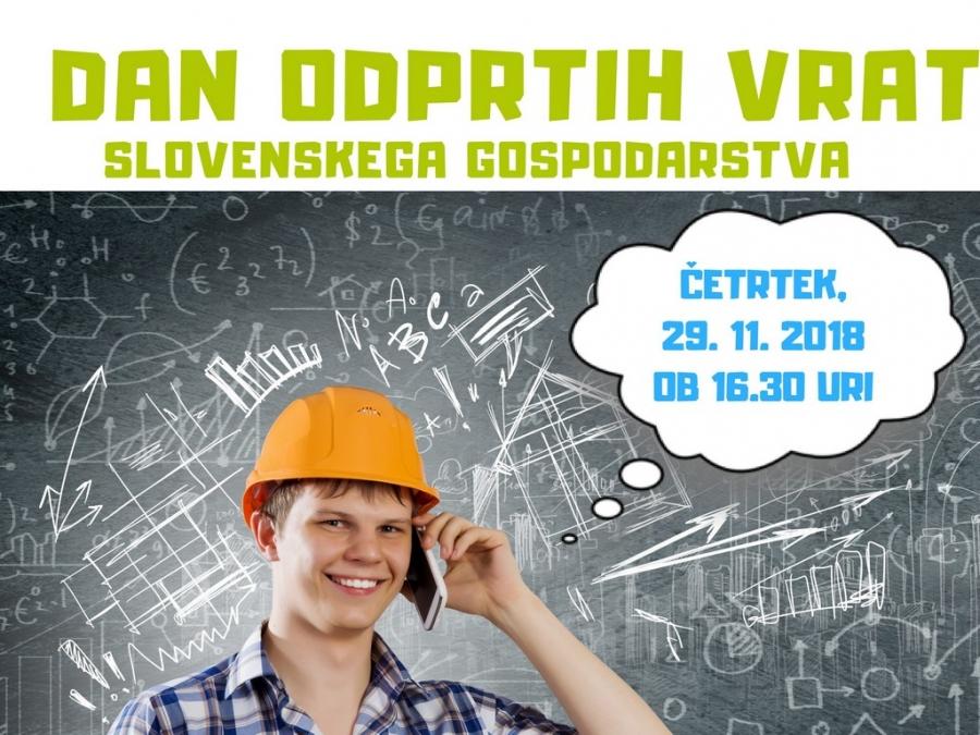 Odprta vrata slovenskega gospodarstva