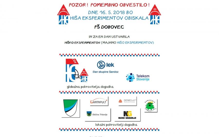Hiška eksperimentov na Dobovcu