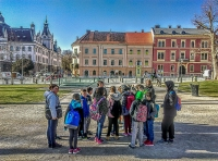 Ogled mesta Ljubljana...