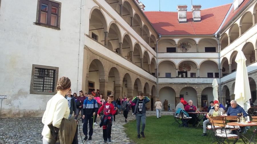 8. razred obišče panonski svet