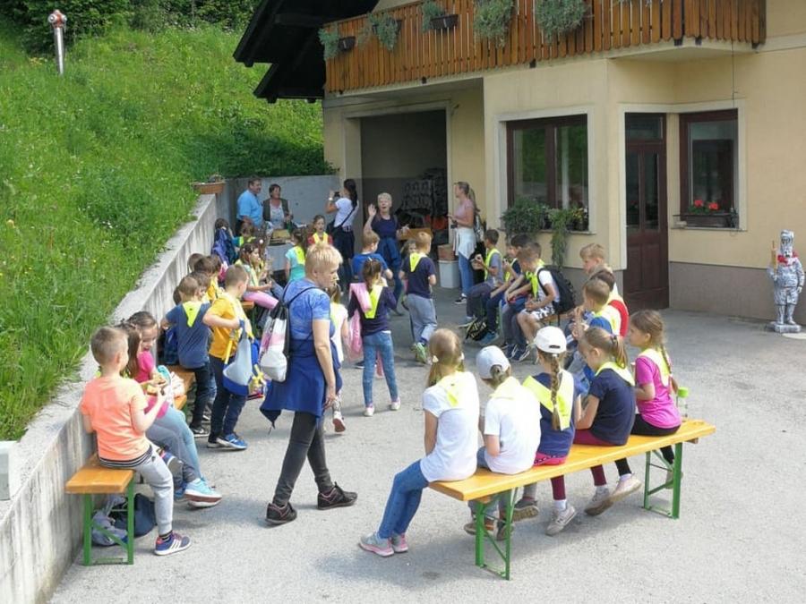 Obisk kmetije in pekarne