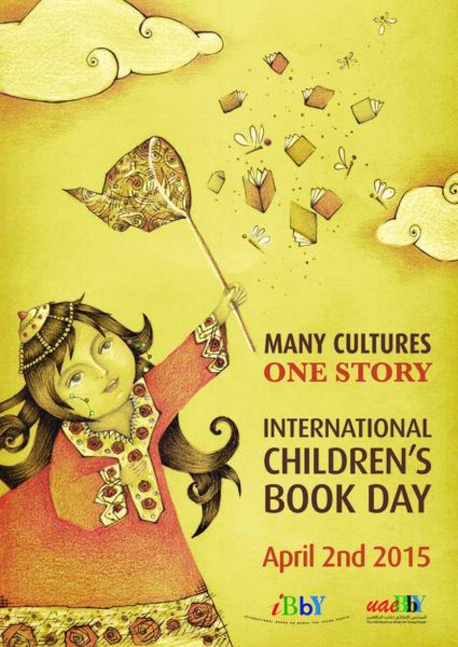 2. april - mednarodni dan knjig za otroke