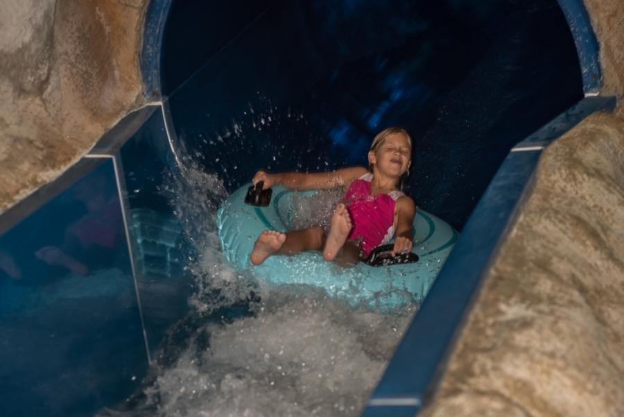 Plavalni dan v Atlantisu...