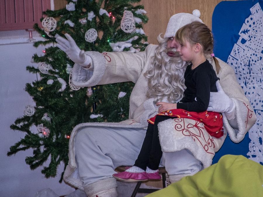 Dedek Mraz na Dobovcu