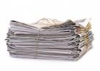 Uspešna 1. zbiralna akcija odpadnega papirja